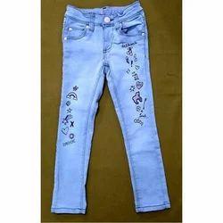 Casual Wear Kids Denim Jeans