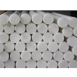 Round White PP Rods for Industrial