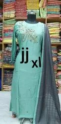 Cotton Casual Wear Ladies Kurti, Size: XL, Wash Care: Handwash