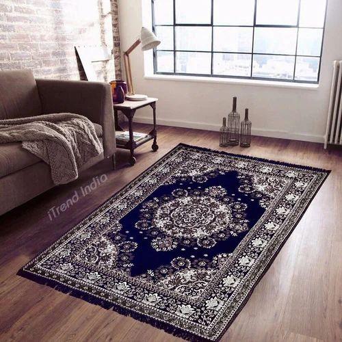 Itrend India Multicolor Floor Velvet Carpet Size 5 X 7 Feet Rs