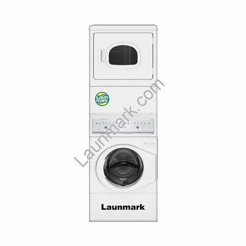 Stack Washer Gas Dryer Sq-10.5 Kg
