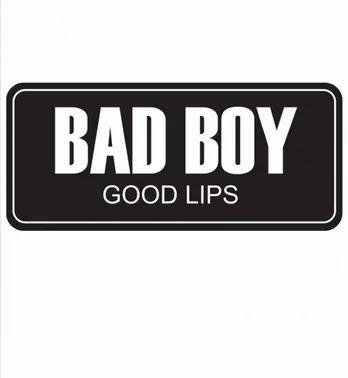 Stickers - Bad Boy Good Lips Sticker Retailer from Chandigarh