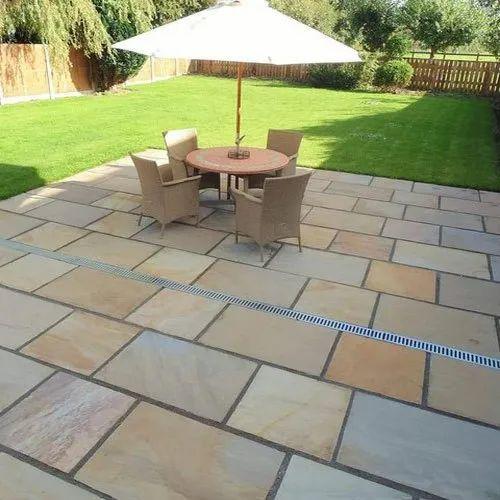 full paver design for courtyard