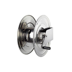 8000 Series Dual Stand Stainless Steel Manual Hose Reel