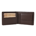 Chocolate Color Men Leather Wallet