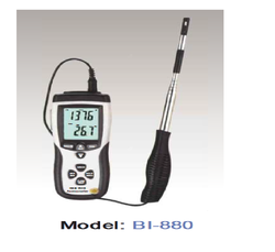 Hot Wire Anemometer, Model Number: Bi-880