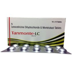 Levocetirizine Dihydrochloride And Montelukast Tablets