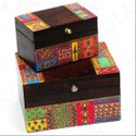 Embossed Wooden Box