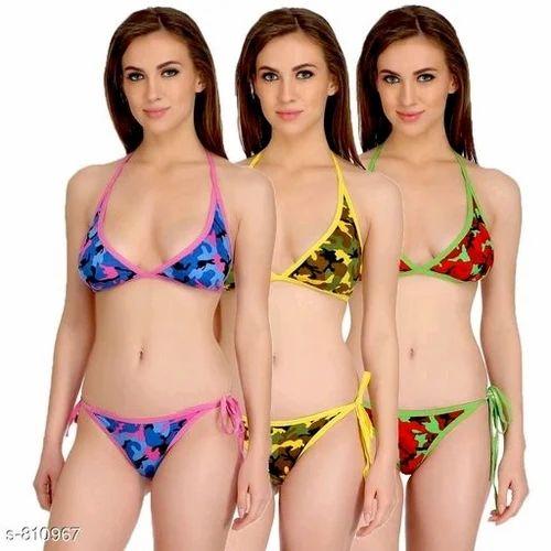 7159a818e900 DP Collections Extreme Micro Bikini Set Lingerie Bra Panty String ...