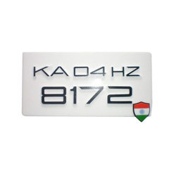 Number Plates Manufacturers Suppliers Dealers In Bengaluru