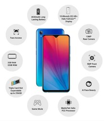 Slim Blue or Black Vivo Y91i, Memory Size: 32GB, Kalyan