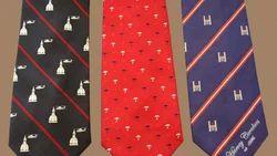 Woven Logo Ties