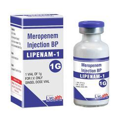 Livealth Meropenem Injection BP 1 g