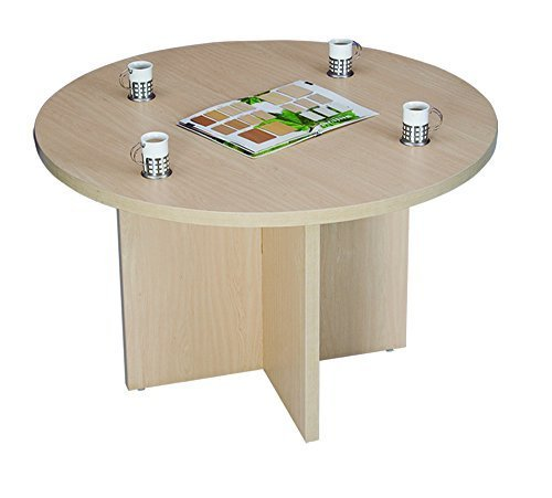 Wooden Round Office Table Beautiful, Round Office Table