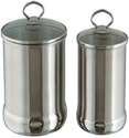 Glass Top Bulged Canister