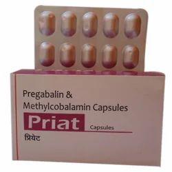 Pregabalin Capsules, 1x10, Packaging Type: Strip