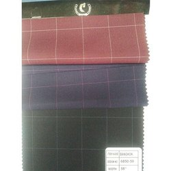 Chequered T R Suiting Fabric