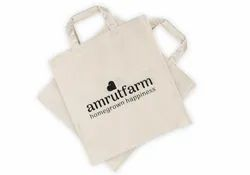 White cotton carry bags, For Shopping