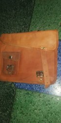 Brown Official Leather Handbags, Gender: Women