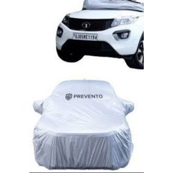 Polyester Gray Prevanto Car Body Cover