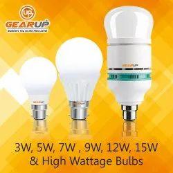 GEARUP Edison,Everlight and Osram LED Bulb, Base Type: B22 ,100-270 VAC