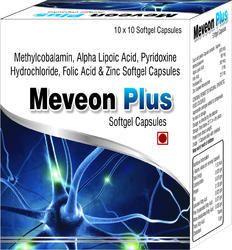 Methylcobalamin Alpha Lipoic Acid Pyridoxine Hydrochloride Folic Acid and Zinc Softgel Capsules