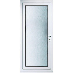 UPVC Bathroom Hinged Door