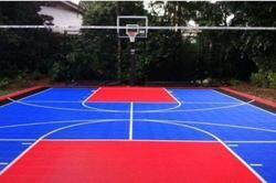 Outdoor Sports Flooring Service