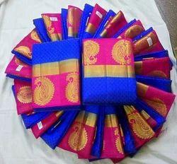Kanjivaram Mango Sarees