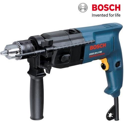 Bosch GSB 20-2 RE Professional Impact Drill, 1100 / 3000 rpm , 800 W, Warranty: 1 year