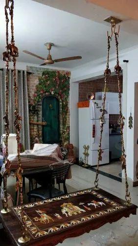 Wooden Oonjal In Pudhucherry Swing Oonjal Manufacturer