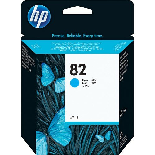 HP 82 Cyan Design Jet Ink Cartridge