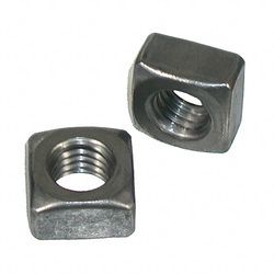 Polished Stainless Steel SS Square Nuts, Packaging Type: Packet, Size: M5-M64