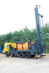 DTH Cum Rotary Drilling Rig Only Mounting
