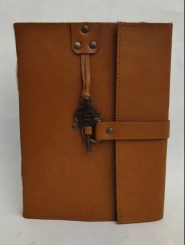 ANTIQUE KEY CLOSURE HANDMADE LEATHER JOURNALS