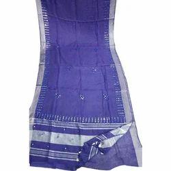 Casual Wear Ladies Cotton Kalamkari Saree, Length: 6.3 m