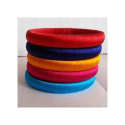 Fancy Silk Thread Bangle