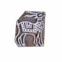 Hand Carved Deer Block Print