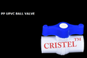 Solid UPVC Ball Valve