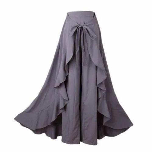 c9596c98c Flared Fancy Palazzo Skirt, Rs 100 /piece, Alisha Cotton Club | ID ...