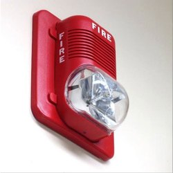 Automatic ABS Fire Alarm Hooter With Flash Light for Commercial
