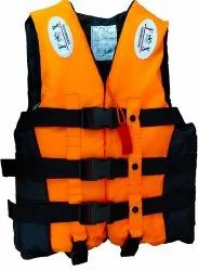 Grey Polyester Life Jacket, for Sea Patrolling