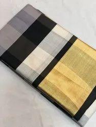 Multicolor Casual Wear Cotton Silk Saree
