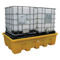 Double IBC Bund Pallet with Four-Way Access - (BB2FW)