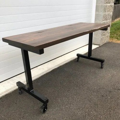 Neo Rack Rectangle Wooden Table