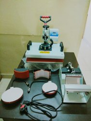 Semi-Automatic Sublimation Machine