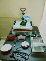 Semi-Automatic Sublimation Machine, Capacity: 50 Piece Tshirt In 1hour