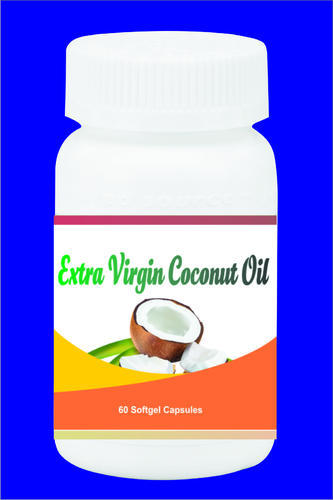 Extra Virgin Coconut Oil Softgel Capsules