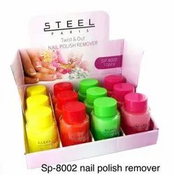 Steel Paris Nail Paint Remover (Twist & Out ) SP-8002, For Nails, 3