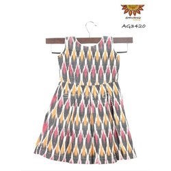 Cotton Ikat Frock
